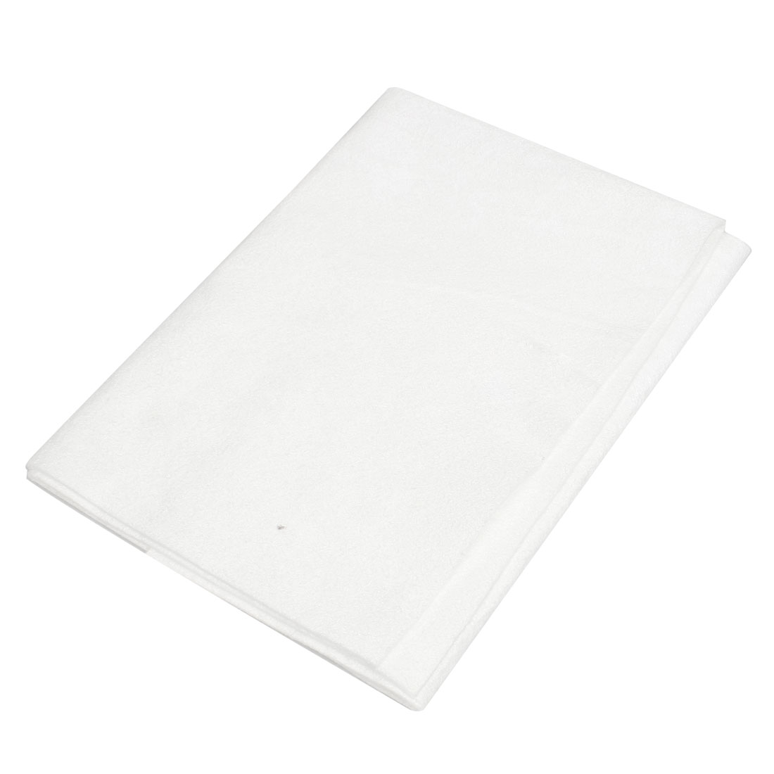 White Synthetic Chamois Auto Car Cleaning Cham Towel 40cm x 40cm