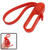Red Soft Rubber Adjustable Circles Band Bottle Opener
