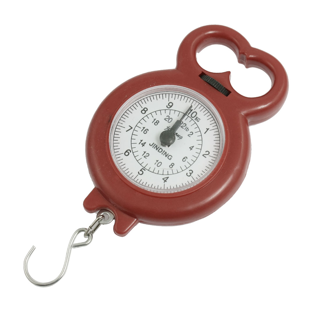 Home Kitchen Weigh Up 10Kg Dark Red Plastic Protable Scale
