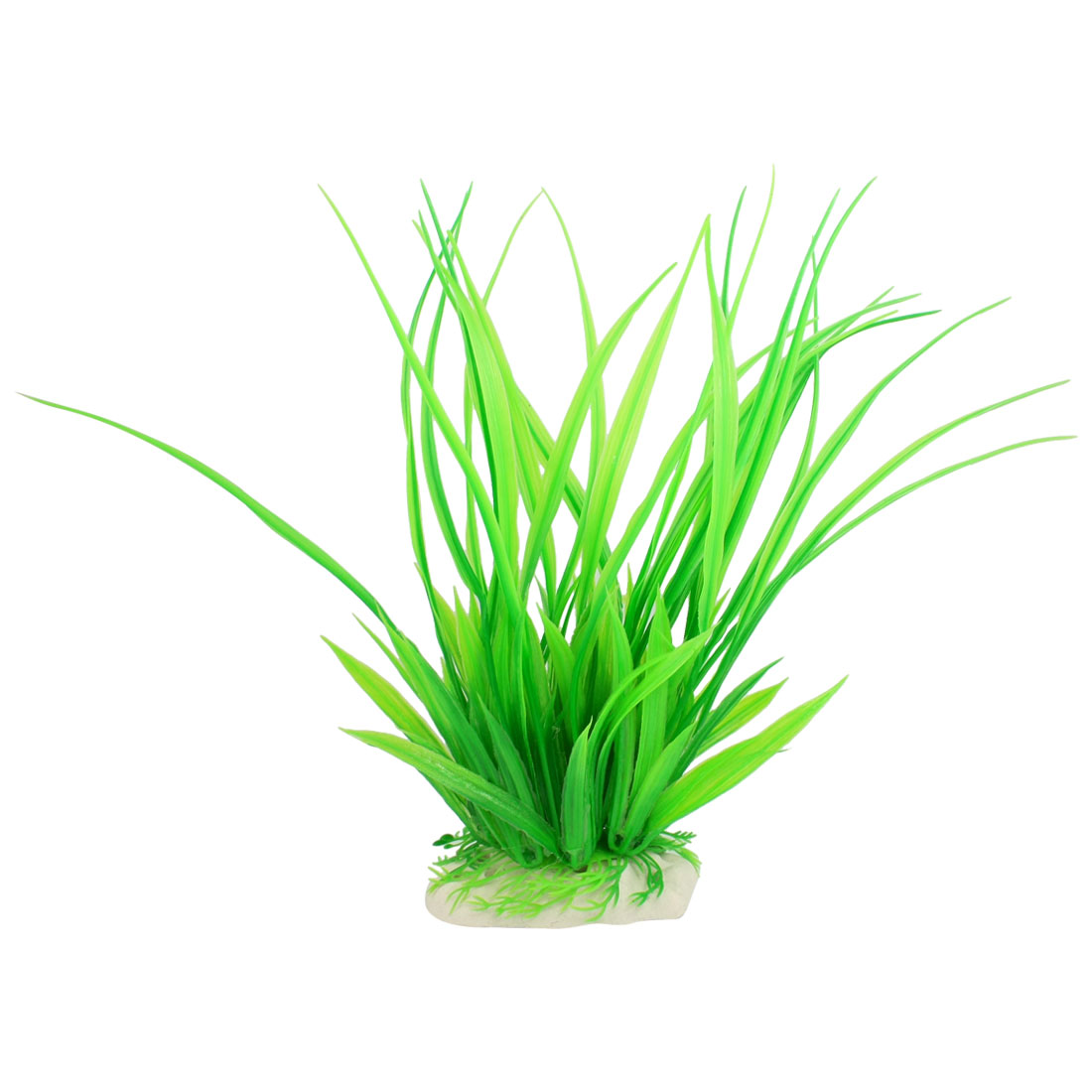 "9"" Green Artificial Plastic Underwater Plant for Aquarium Fish Tank"
