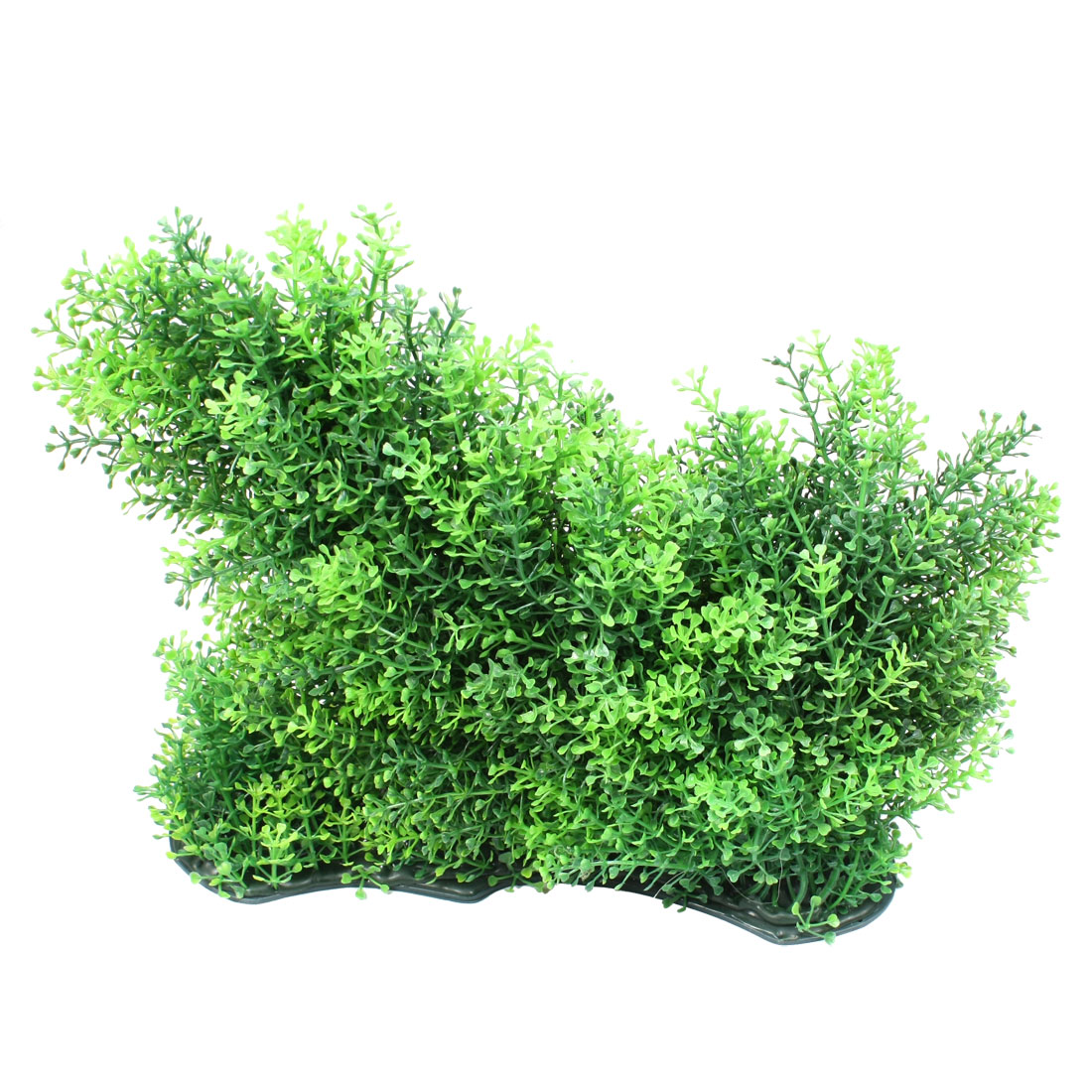 "Green 9.4"" Underwater Aquascaping Plastic Plant for Aquarium Tank"