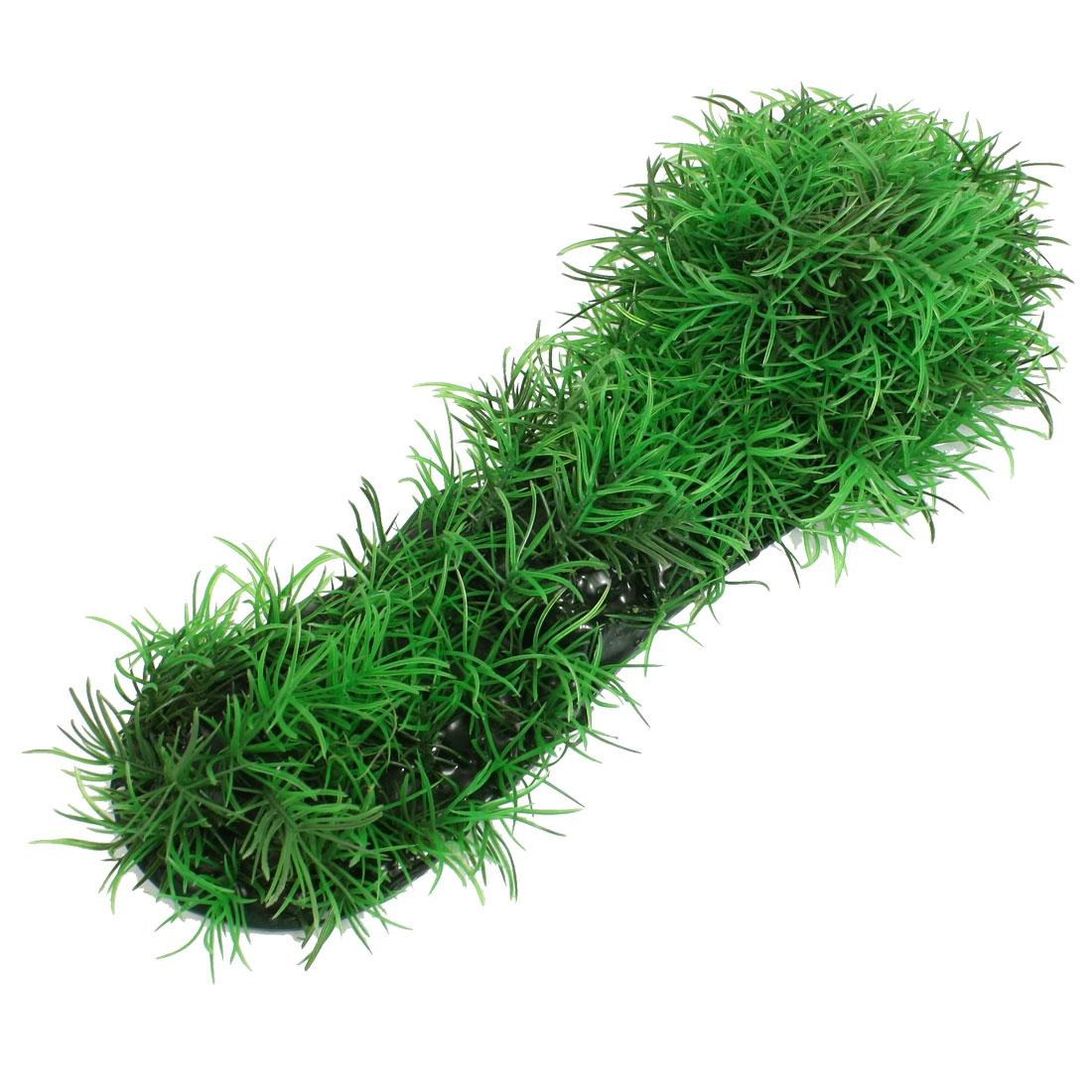 Aquarium Decorative Aquascaping Green Plastic Plant Grass