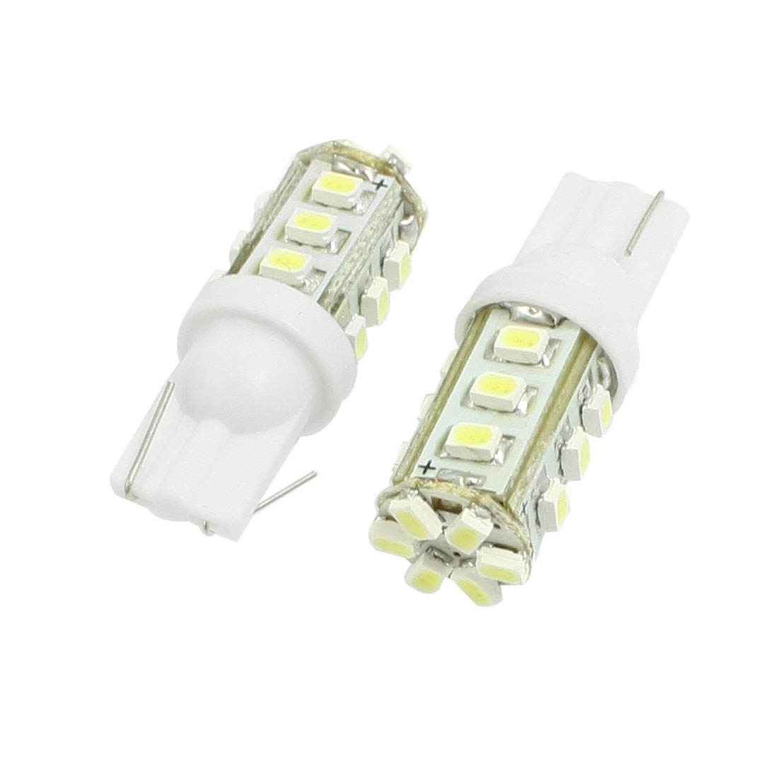 2 Pcs T10 W5W 18 SMD LED 1206 Car Vehicle Side Wedge Light Lamp White