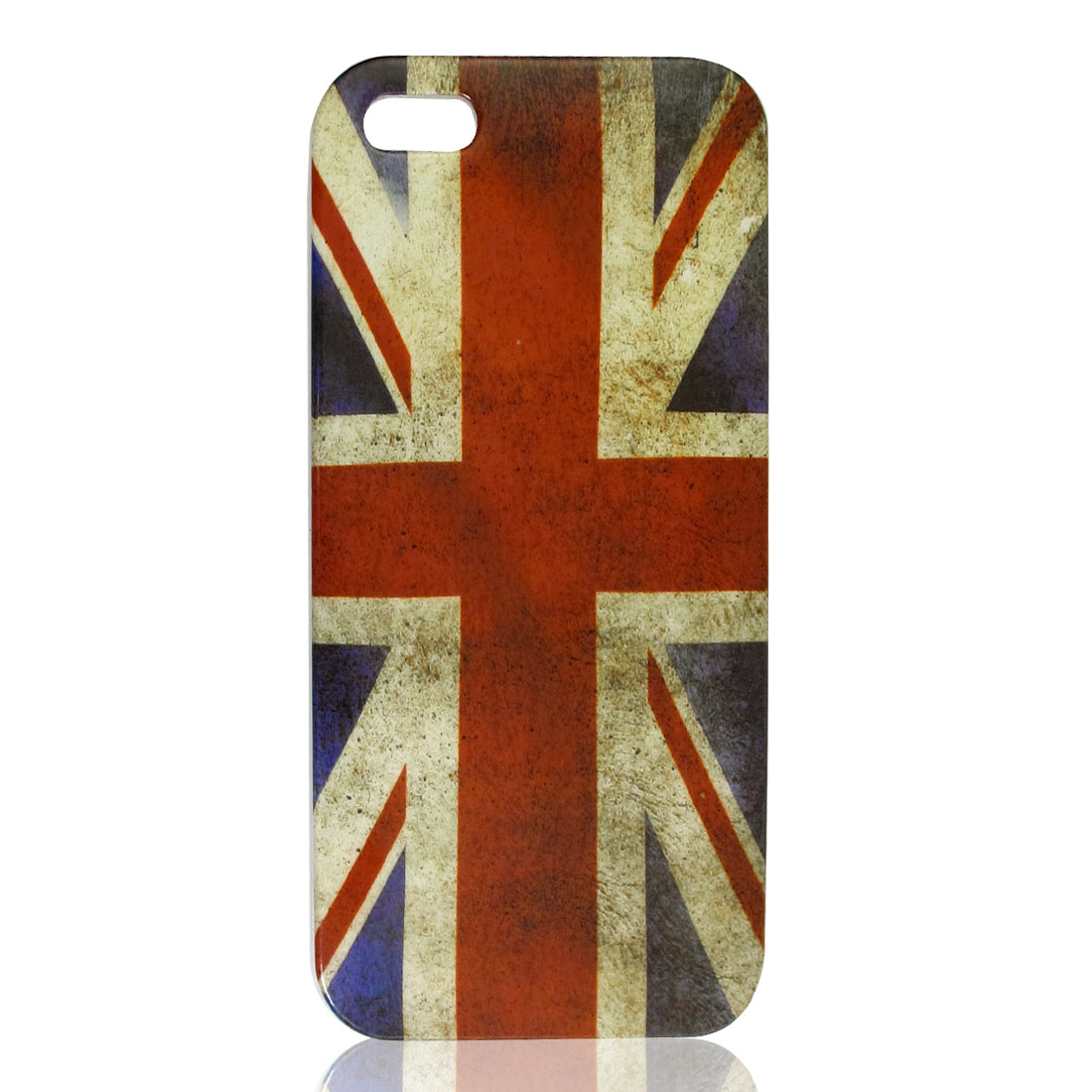 Retro Style Flag Pattern IMD Hard Plastic Back Case Cover for iPhone 5 5G