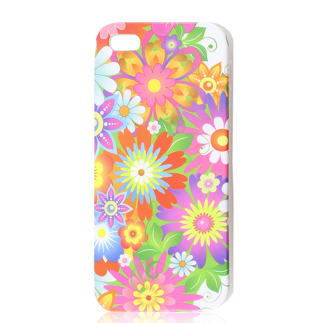 Assorted Color Flower Soft Plastic TPU Case Cover for iPhone 5 5G 5th Gen