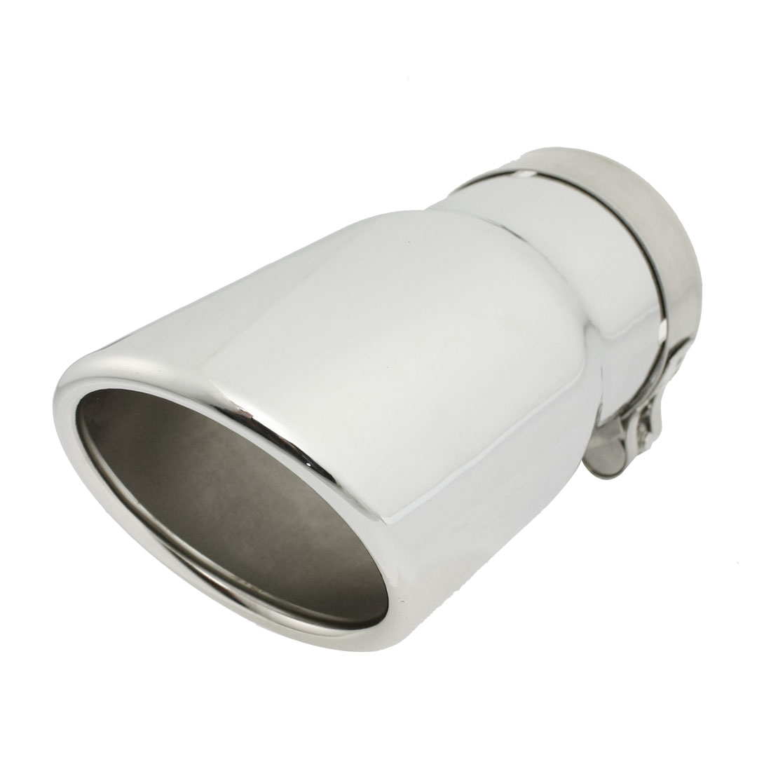 Stainless Steel Oval Rolled Slanted Exhaust Muffler Tip for Jeep Wrangler