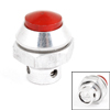 Kitchen Silver Tone Red Pressure Cooker Metal Plastic Safety Valve Replacement