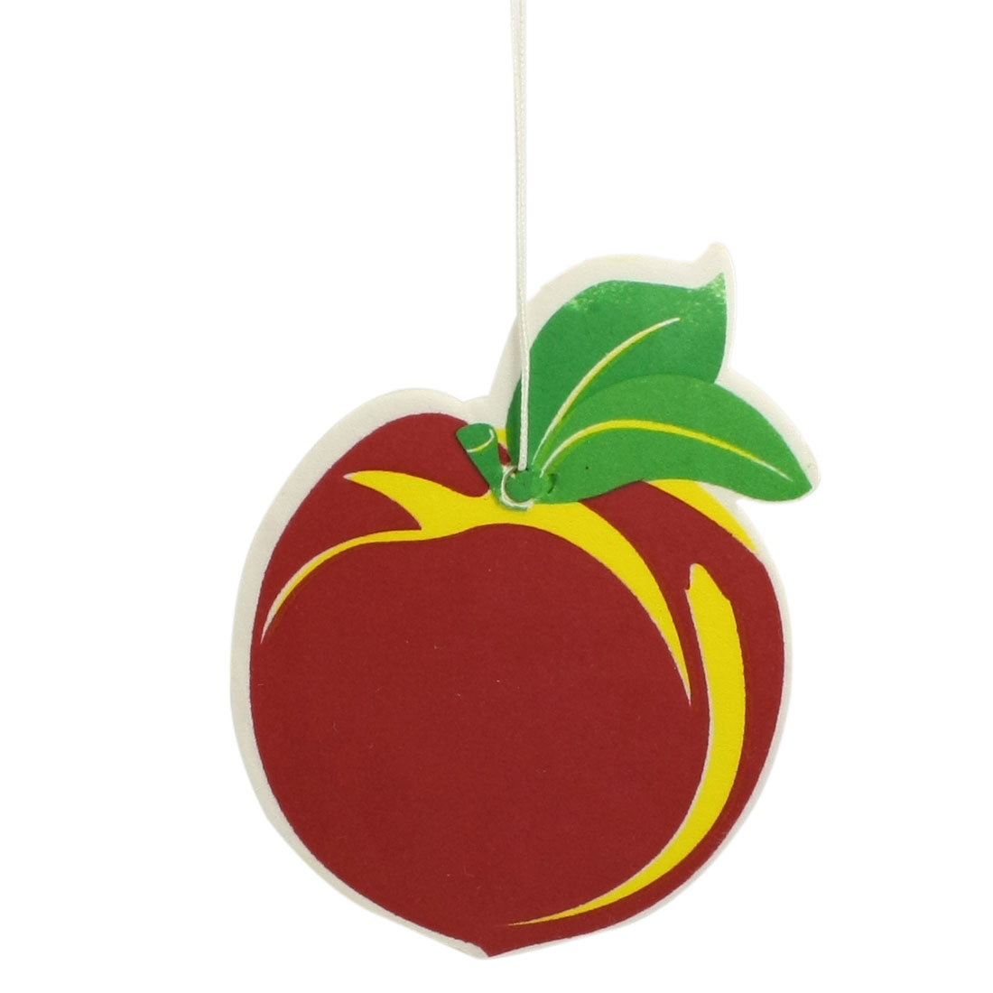 Paper Fruit Peach Vehicle Car Home Hanging Air Freshener Decoration