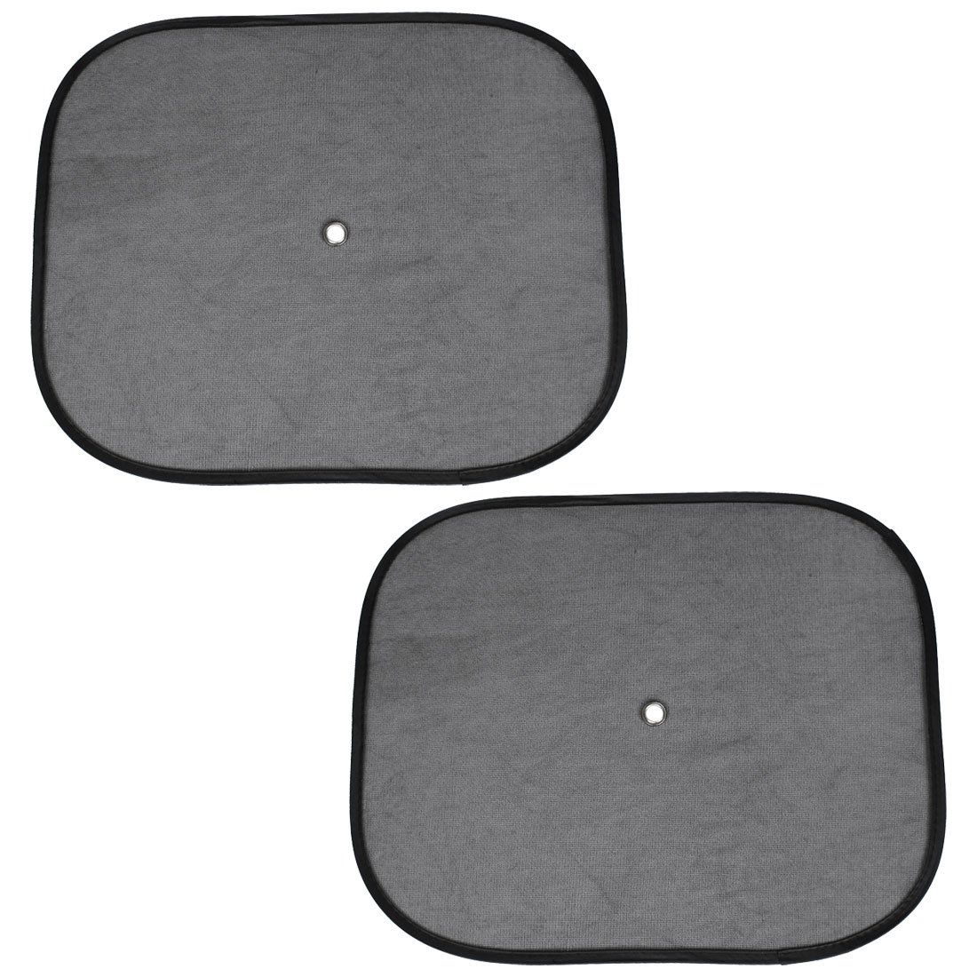 Pair Screen Mesh Collapsible Truck Car Side Rear Window Sunshade Cover