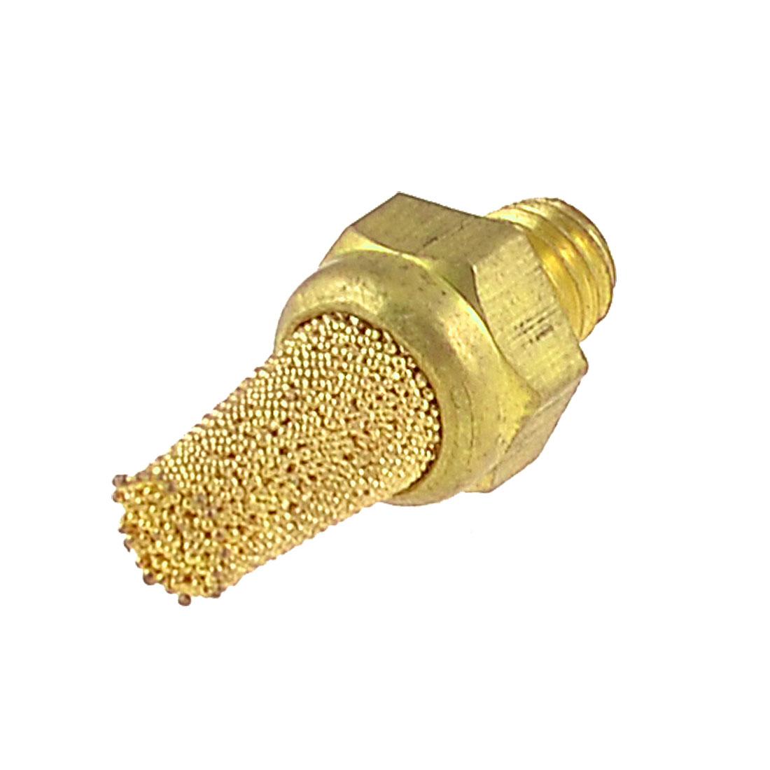 5mm Male Thread Sintered Pneumatic Air Exhaust Silencer Muffler