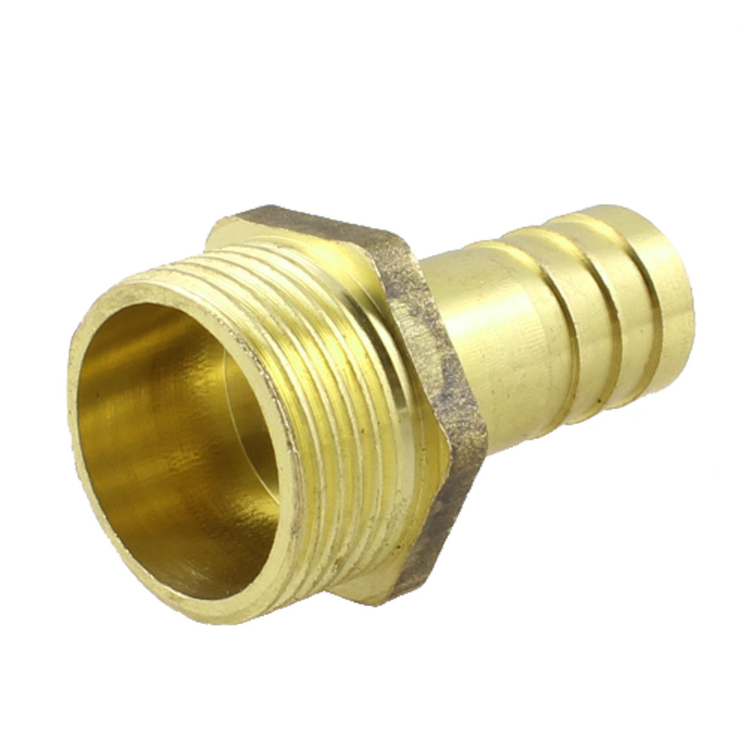 "3/4"" PT Thread 16mm Air Pneumatic Hose Barb Fitting Brass Coupling"
