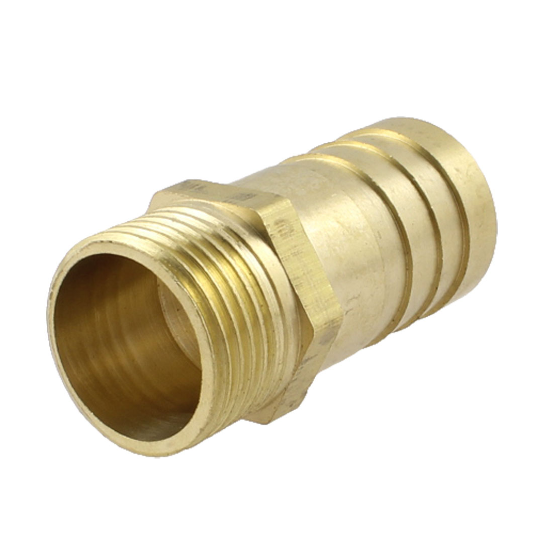 "3/8"" PT Thread 16mm Air Gas Hose Barb Fitting Coupler Adapter"