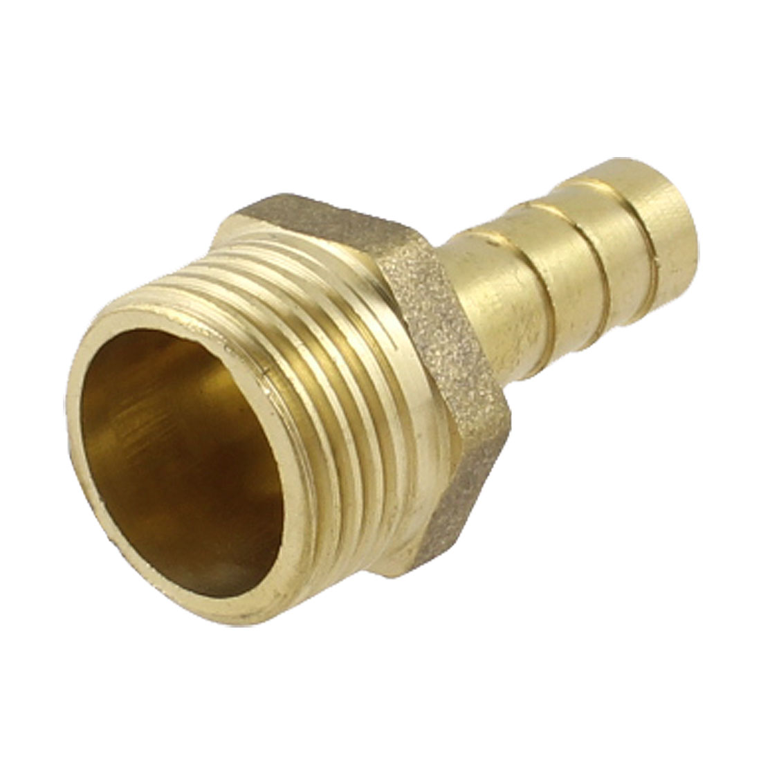"3/8"" PT Thread 8mm Air Pneumatic Hose Barb Fitting Brass Coupling"