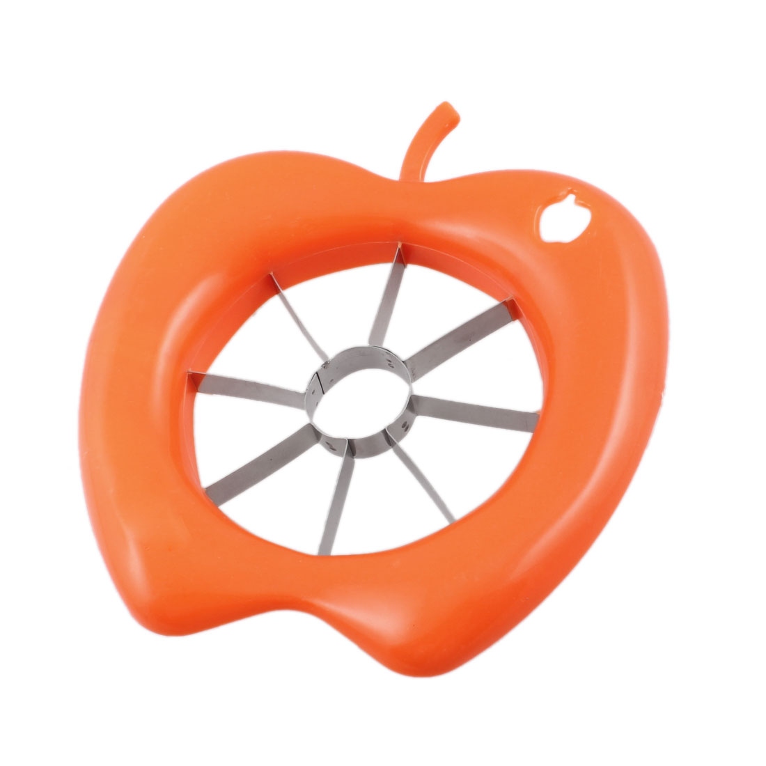 Orange Plastic Shell Sharp Cutting Part Apple Piler Slicer Cutter Corer