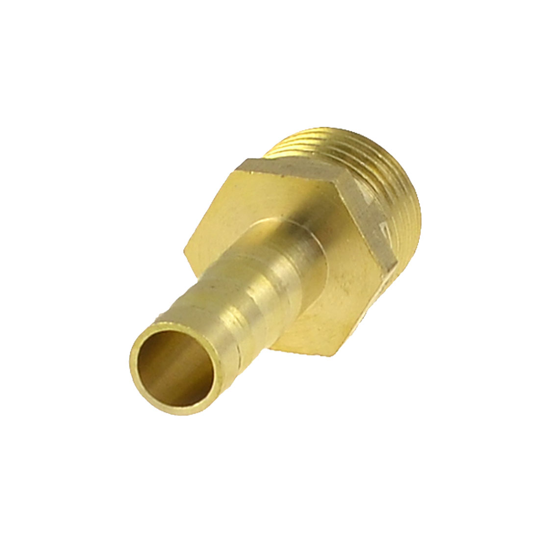 "Brass 6mm Hose Barb to 1/4"" PT Male Thread Pneumatic Coupling Connector"