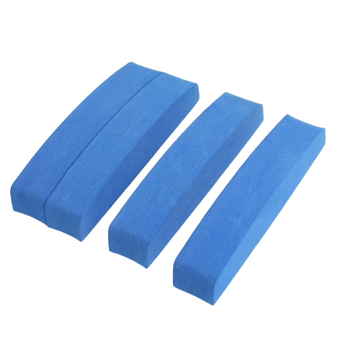 4 Pcs Blue Foam Adhesive Car Door Edge Guard Bumper Protector Sticker