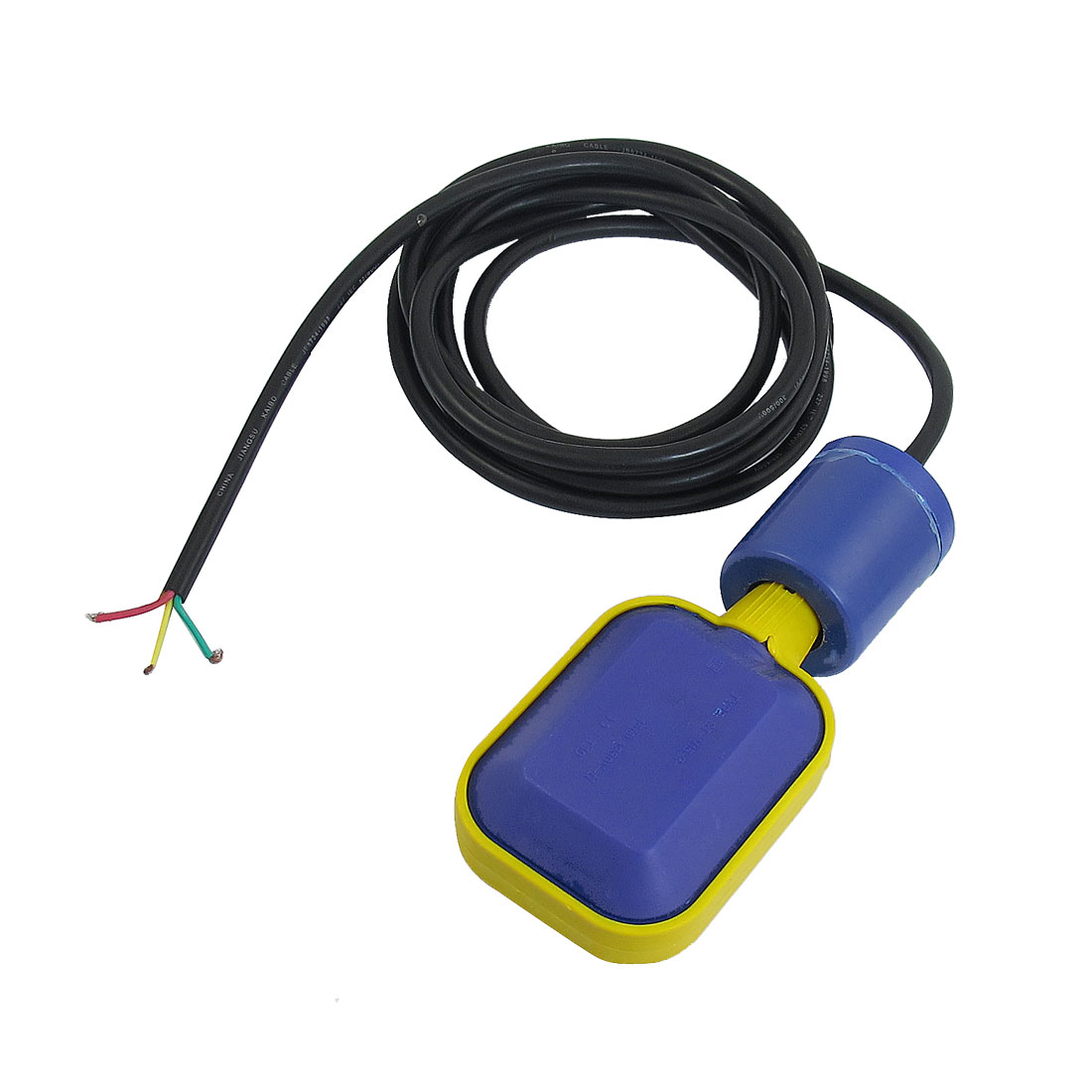 3Meters Cable Water Level Fluid Controller Rectangular Float Switch AC 250V