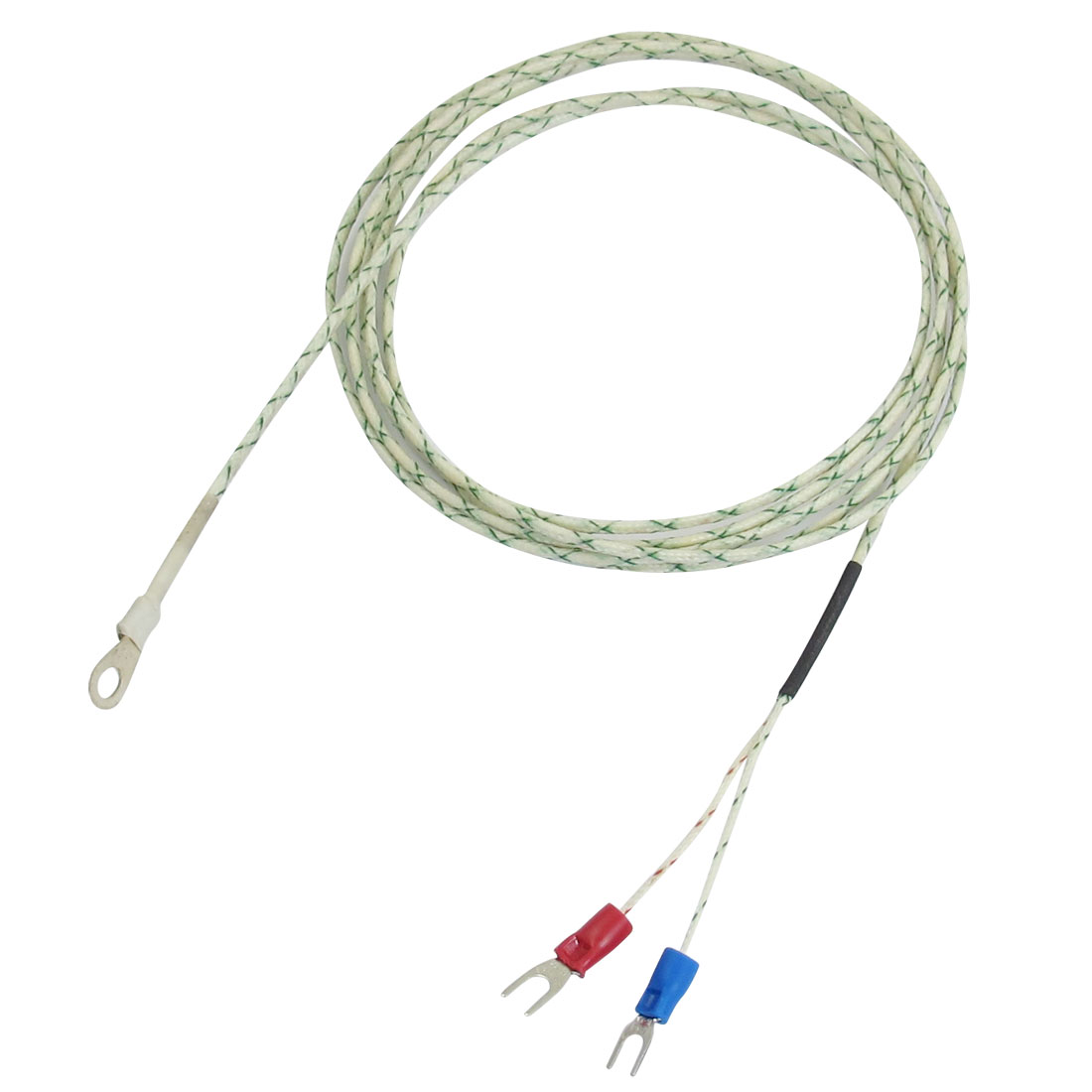 500C 9mm x 5mm Probe Ring K Type Thermocouple Temperature Sensor 2M 6.6Ft