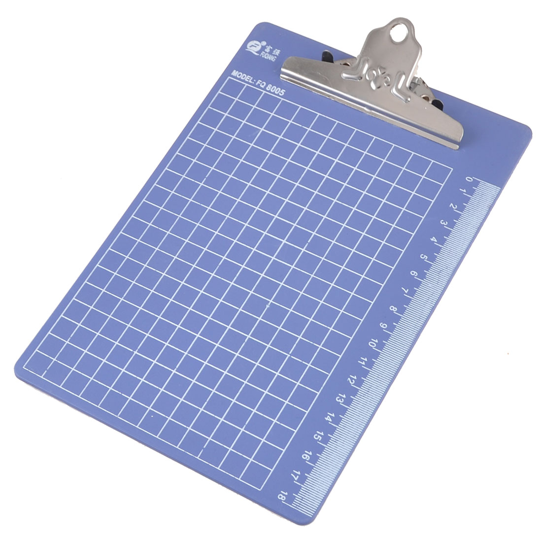 Scale Grids Pattern Plastic A5 Files Documents Menu Paper Clipboard Hardboard Indigo Blue