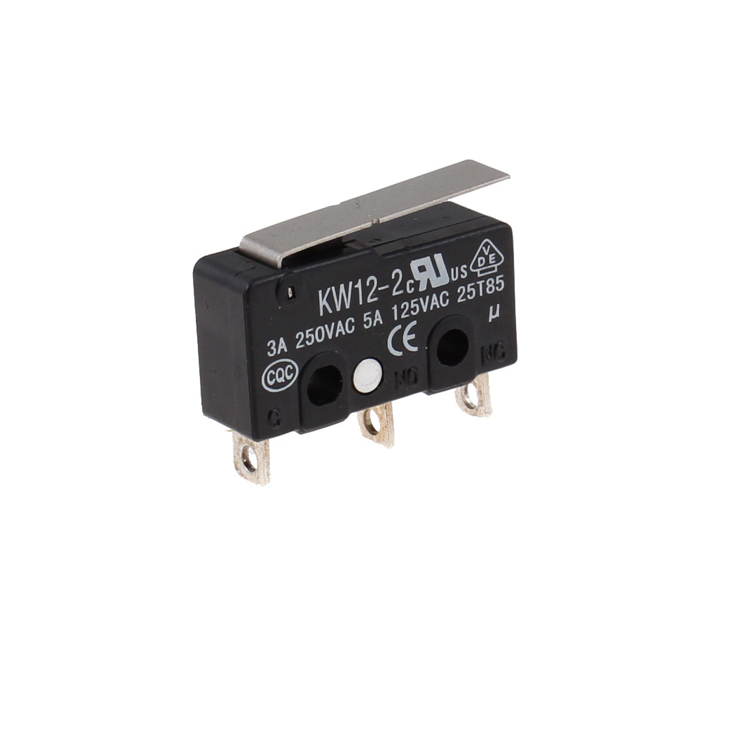 Momentary Lever Actuator Miniature Micro Switch 3A 250VAC 5A 125VAC
