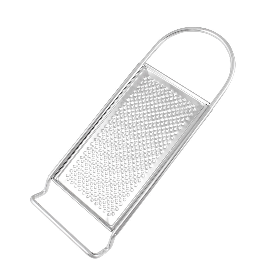 Silver Tone Stainless Steel Plane Zester Grater Kitchen Tool