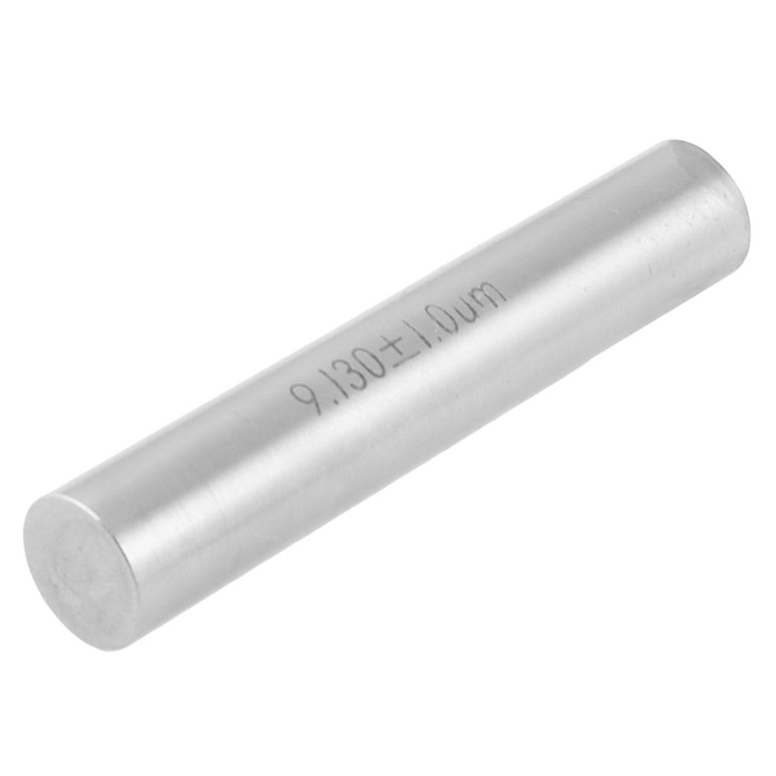 Hole Measuring 9.13mm x 50mm Tungsten Carbide Cylinder Pin Gage Gauge