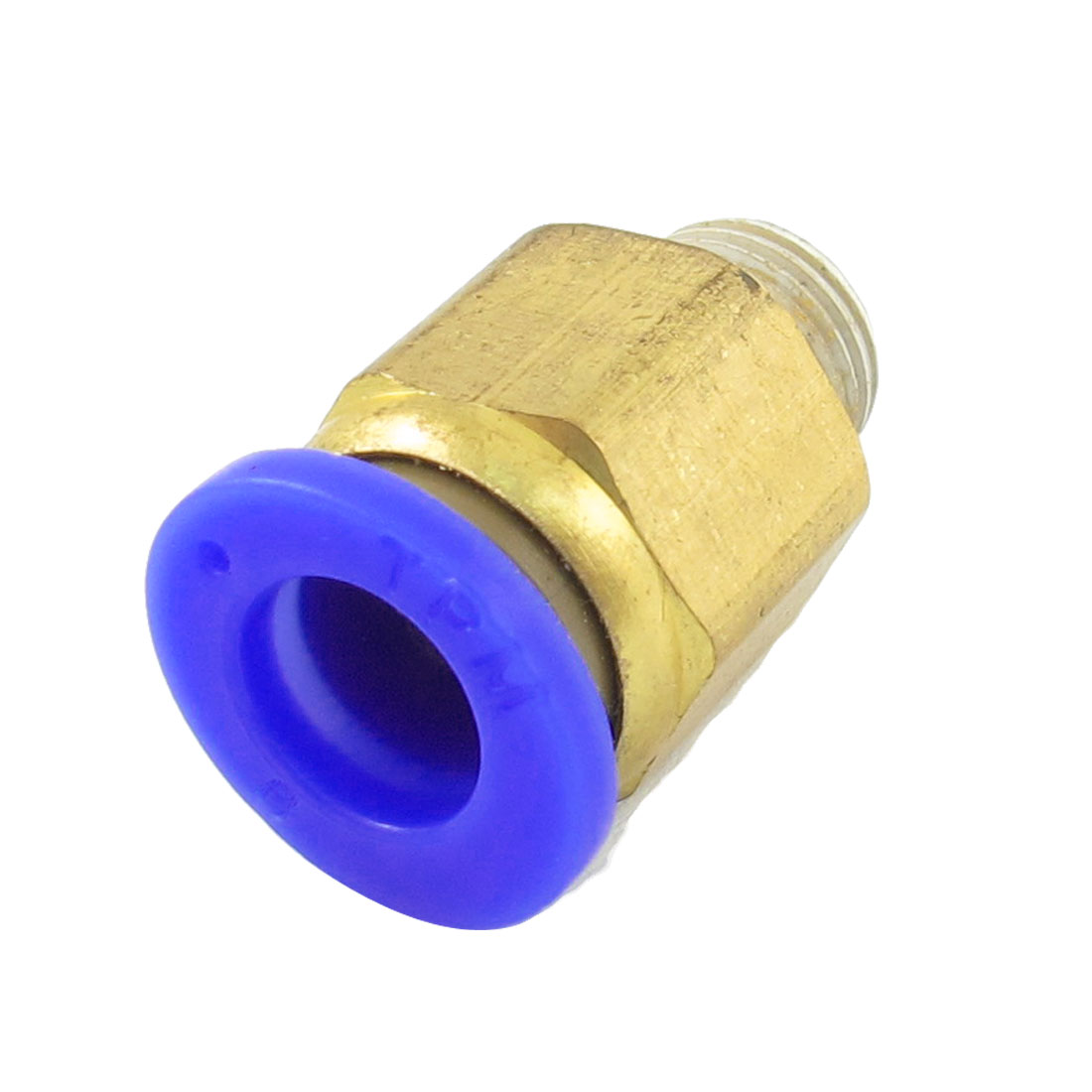 "8mm Round Hole 1/8"" PT Thread Straight Push in Tube Pneumatic Quick Fitting"