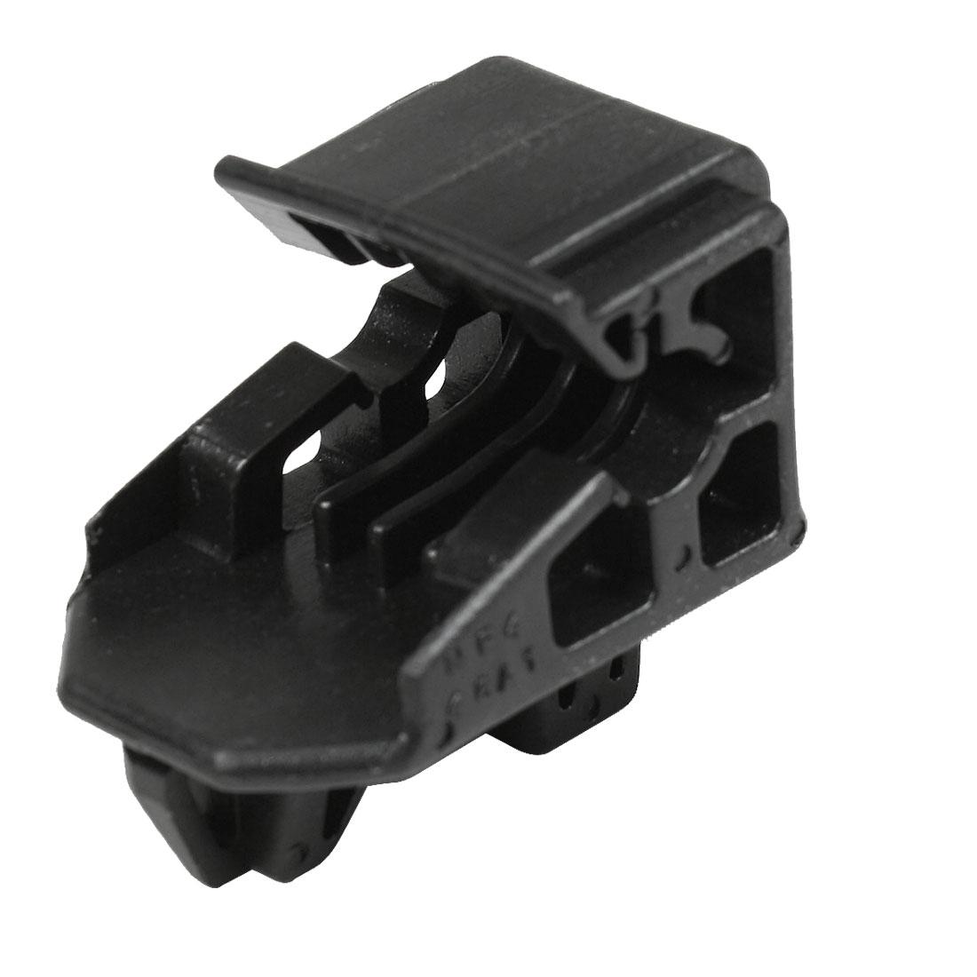 Black Plastic Car Headlight Lamp Bracket Clip 53271-44010