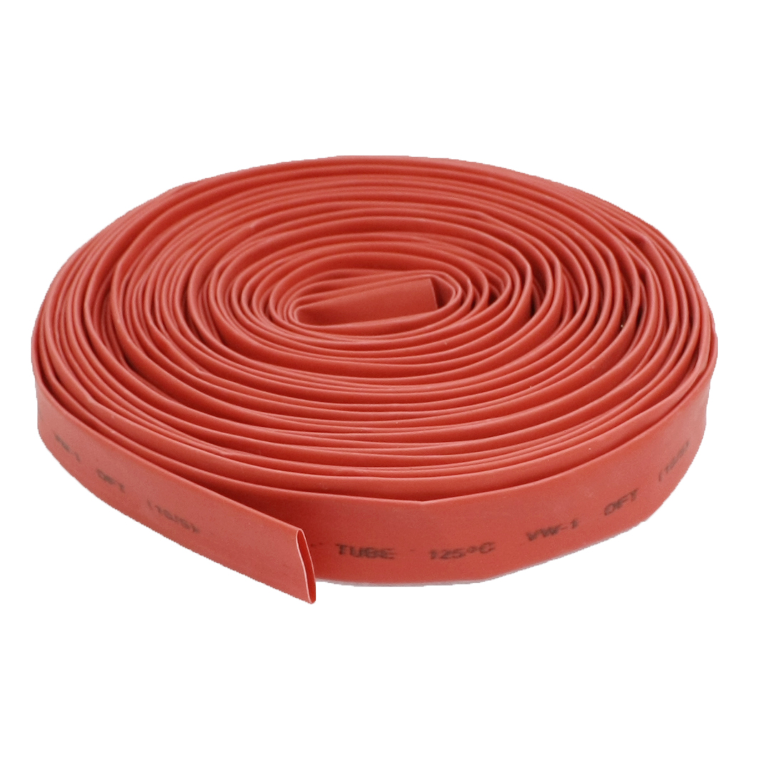 10M 32.8ft 10mm Diameter Heat Shrinkable Tube Shrink Tubing Red