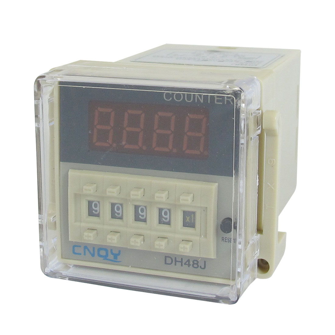 DH48J 1-999900 Digital Counter Relay LED Display AC/DC 24V 50/60Hz