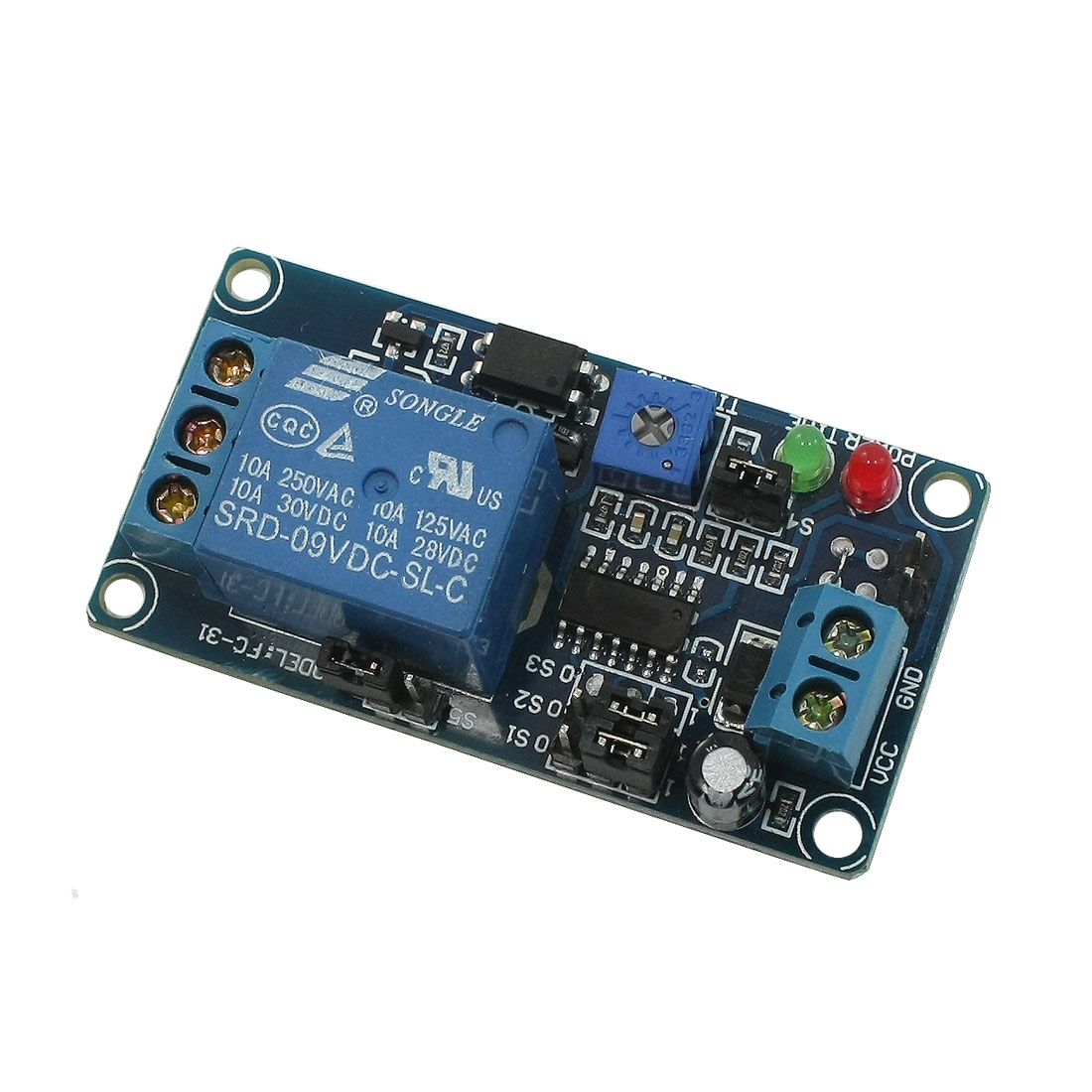 DC 9V SRD-9VDC-SL-C Circulate Time Delay Relay Module Board