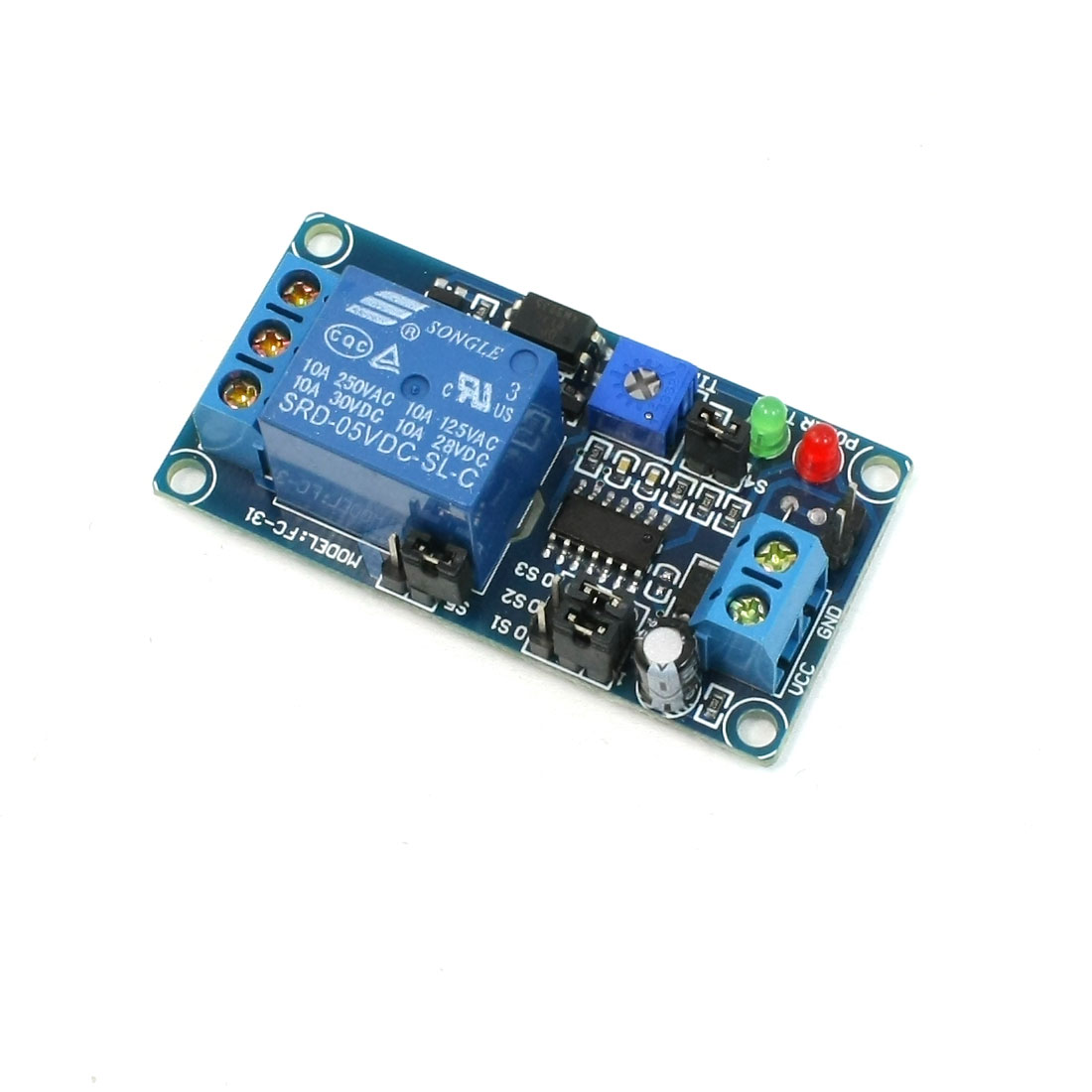 DC 5V Circulate Time Relay Module Control Board SRD-5VDC-SL-C