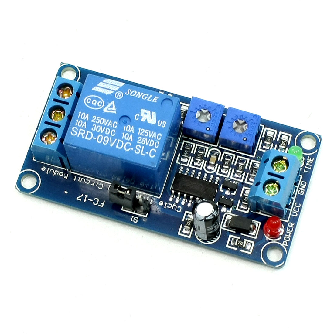 SRD-9VDC-SL-C Circulate Time Delay Module Board w Optocoupler