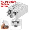 115V/250V 20A CW4L2-20A-S AC Power Single Phase EMI Filter