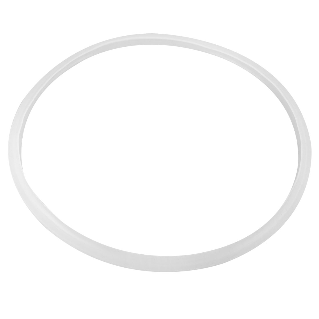 24cm Inner Dia Pressure Cook Gasket Part Replacement Sealing Ring Clear White
