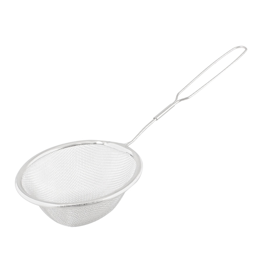 Kitchen Tool 8.5cm Diameter Stainless Steel Wire Mesh Ladle Spoon