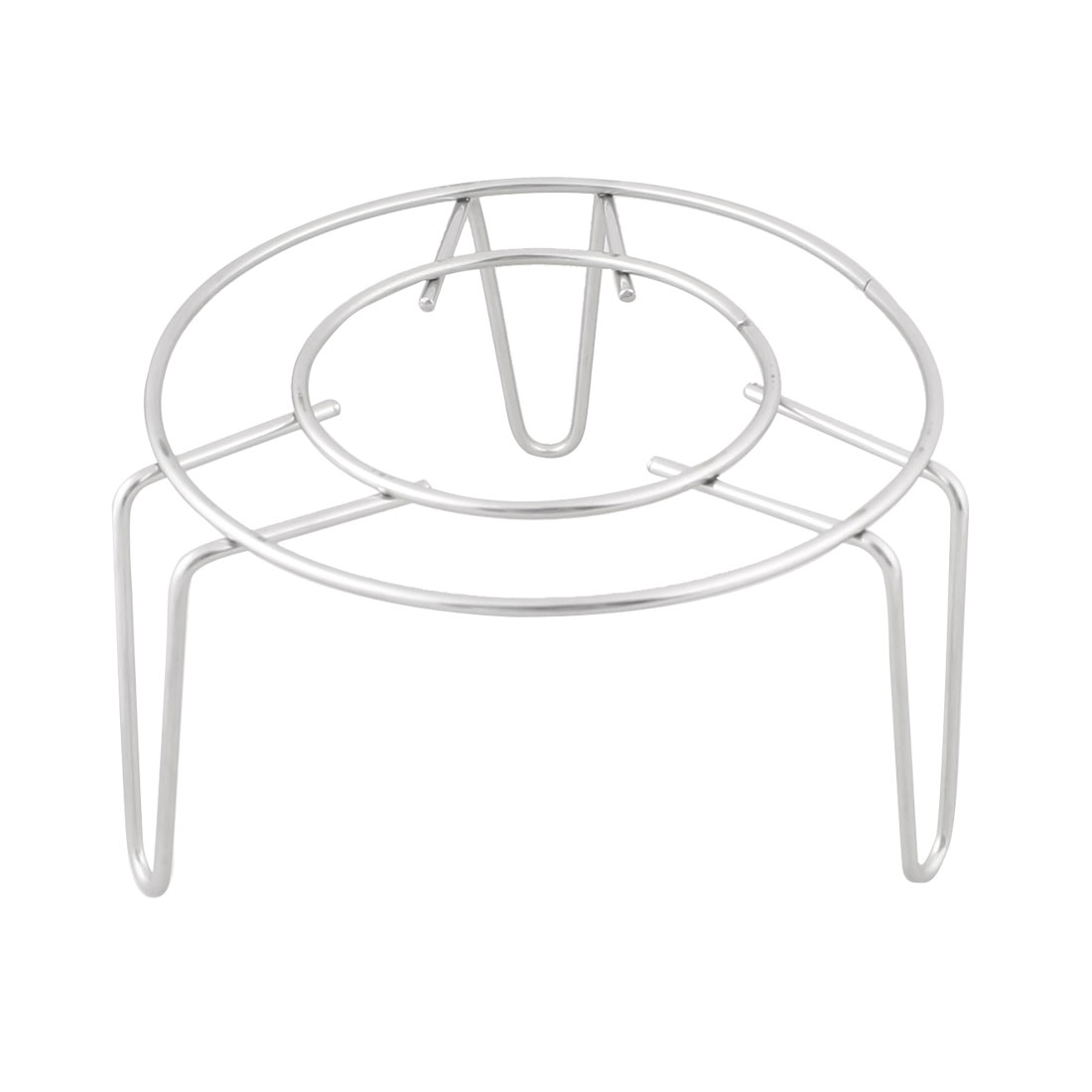 """Household Kitchen Cooking Metal 3"""" High Steamer Rack Stand"""