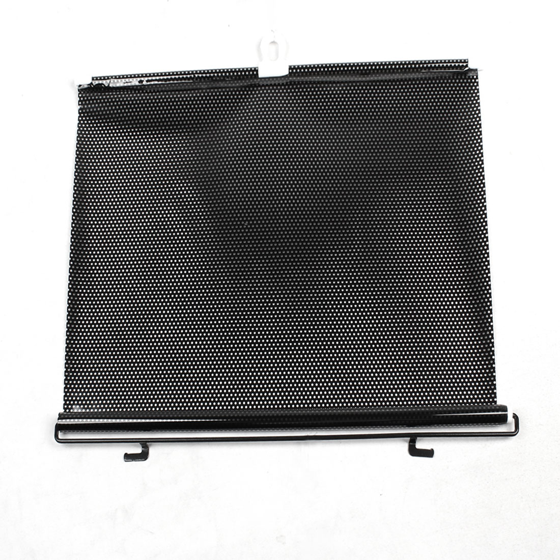 Black Retractable Vehicle Curtain Window Roller Sun Shade Protector 125x50cm