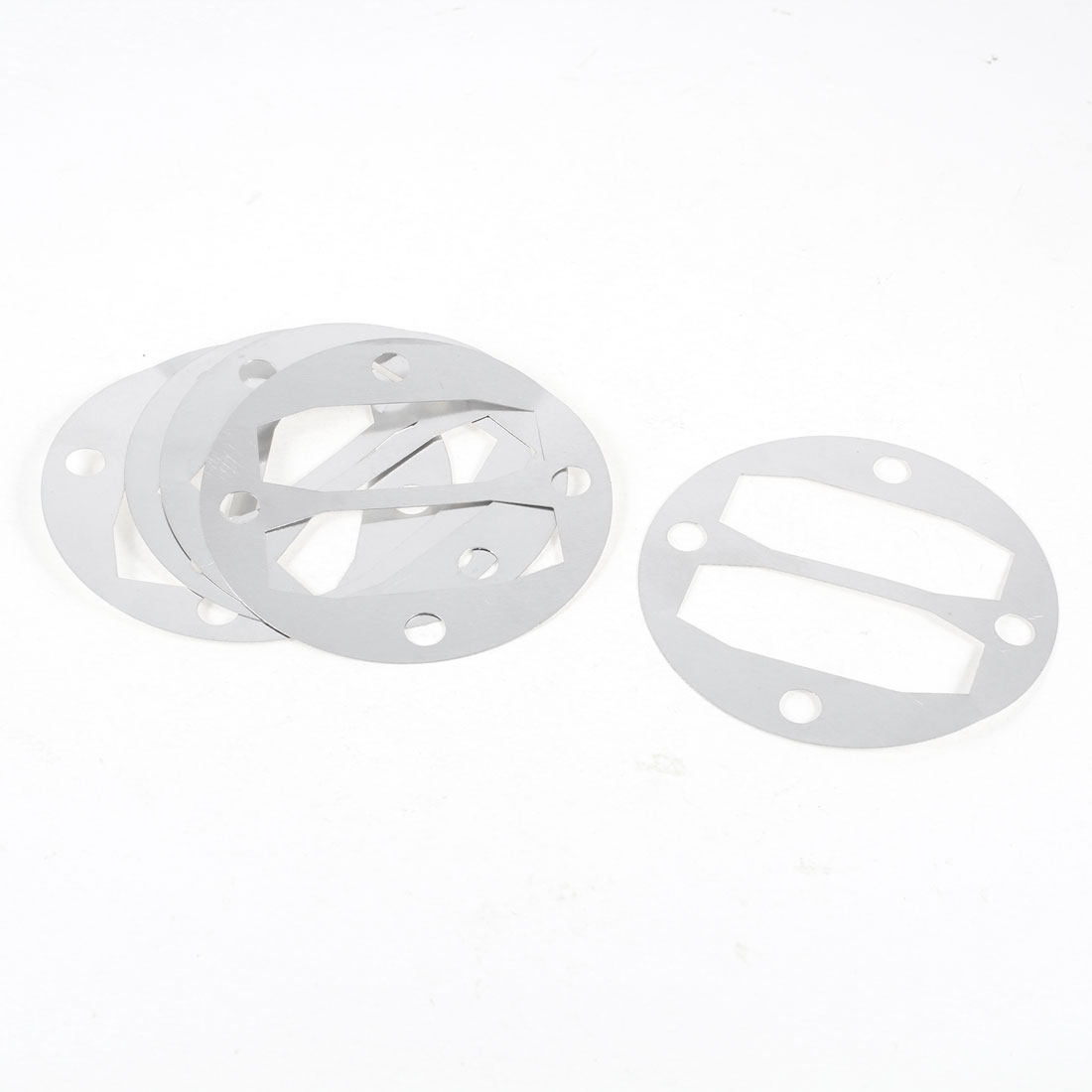 5 Pcs Aluminum Round Air Compressor Cylinder Head Gaskets Washers