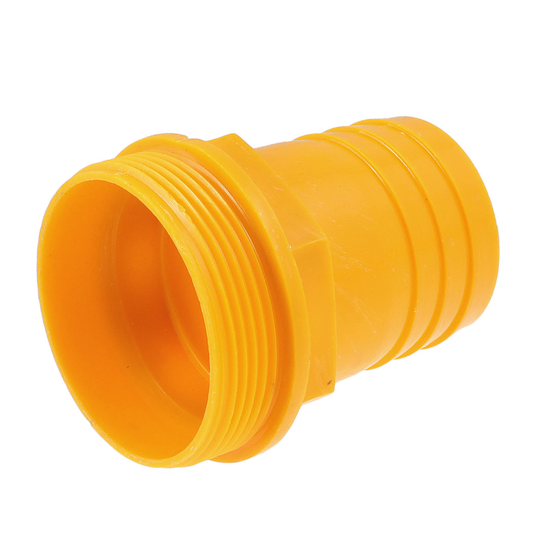 "2"" Water Pump Hose Barb to 2.5"" Male Thread Coupler Adapter Fitting Orange"