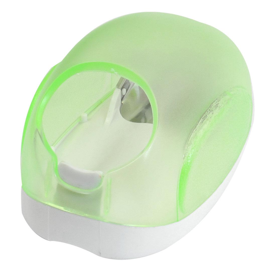 Kitchen Green White Plastic Cob Kerner Cutter Remover Corn Peeler Stripper