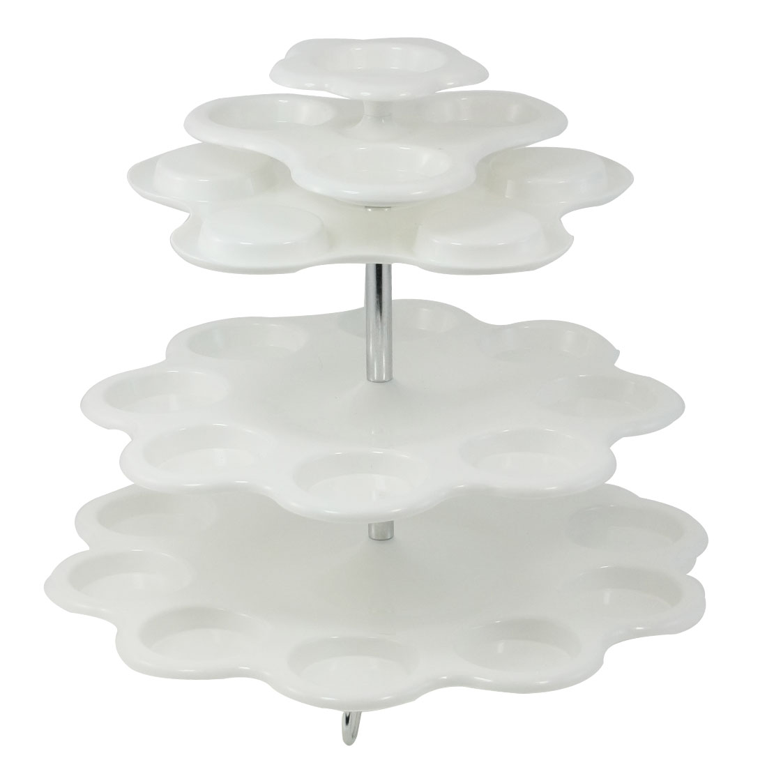 Wedding Babyshower 27 Cakes 3 Tier Round Cupcake Stand Tree White
