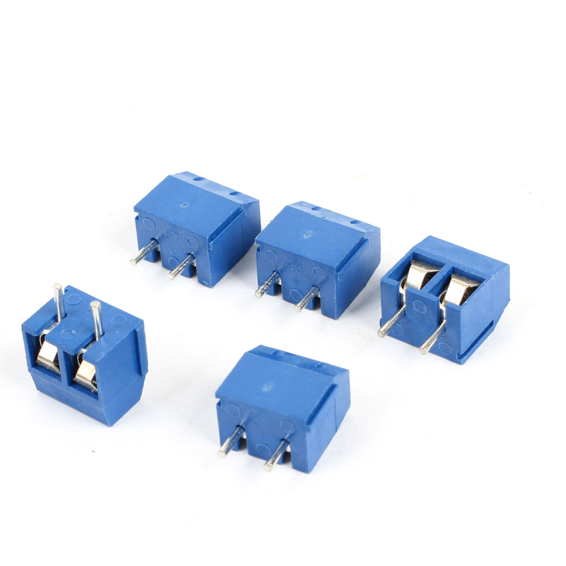 5 x 2 Poles 5.08mm Pitch Universal Screw Terminal Block PCB Connector 300V 16A