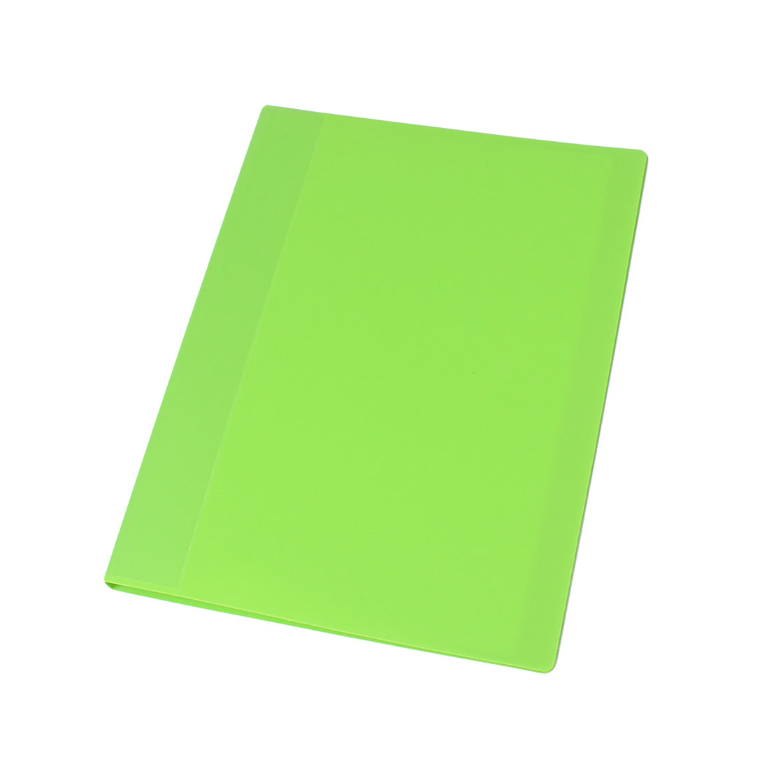 Soft Plastic 20 Pockets A4 Test Paper Documents File Folder Lime Green