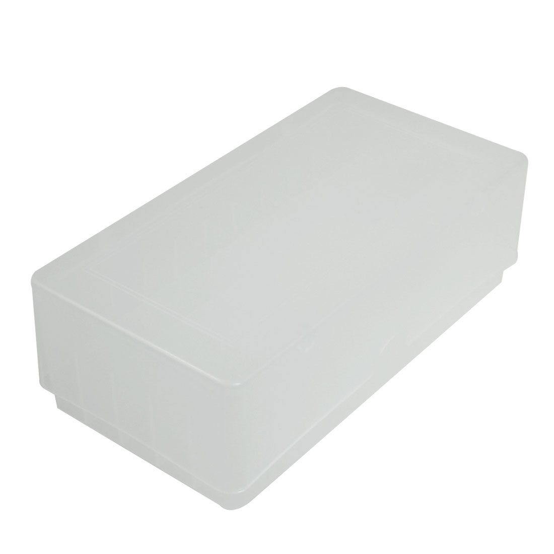 Clear White Cover 50 Compartments Plastic Candy Cake Maker Ice Cube Mold Box