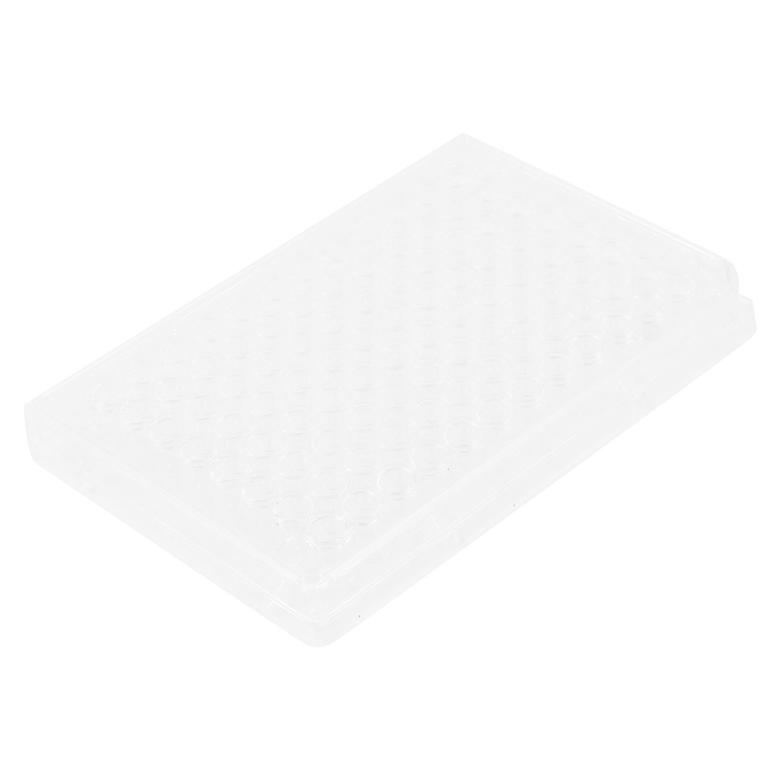 Transparent Plastic Rectangular 96 Slots Cell Culture Plate