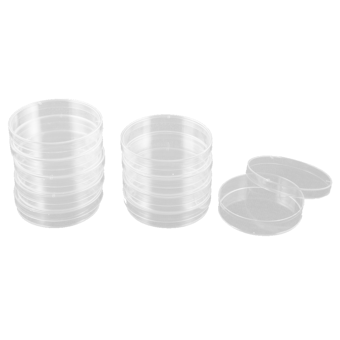 Labor Replacement Part 70mm Diameter Clear Plastic Cell Culture Dish 10 Pcs