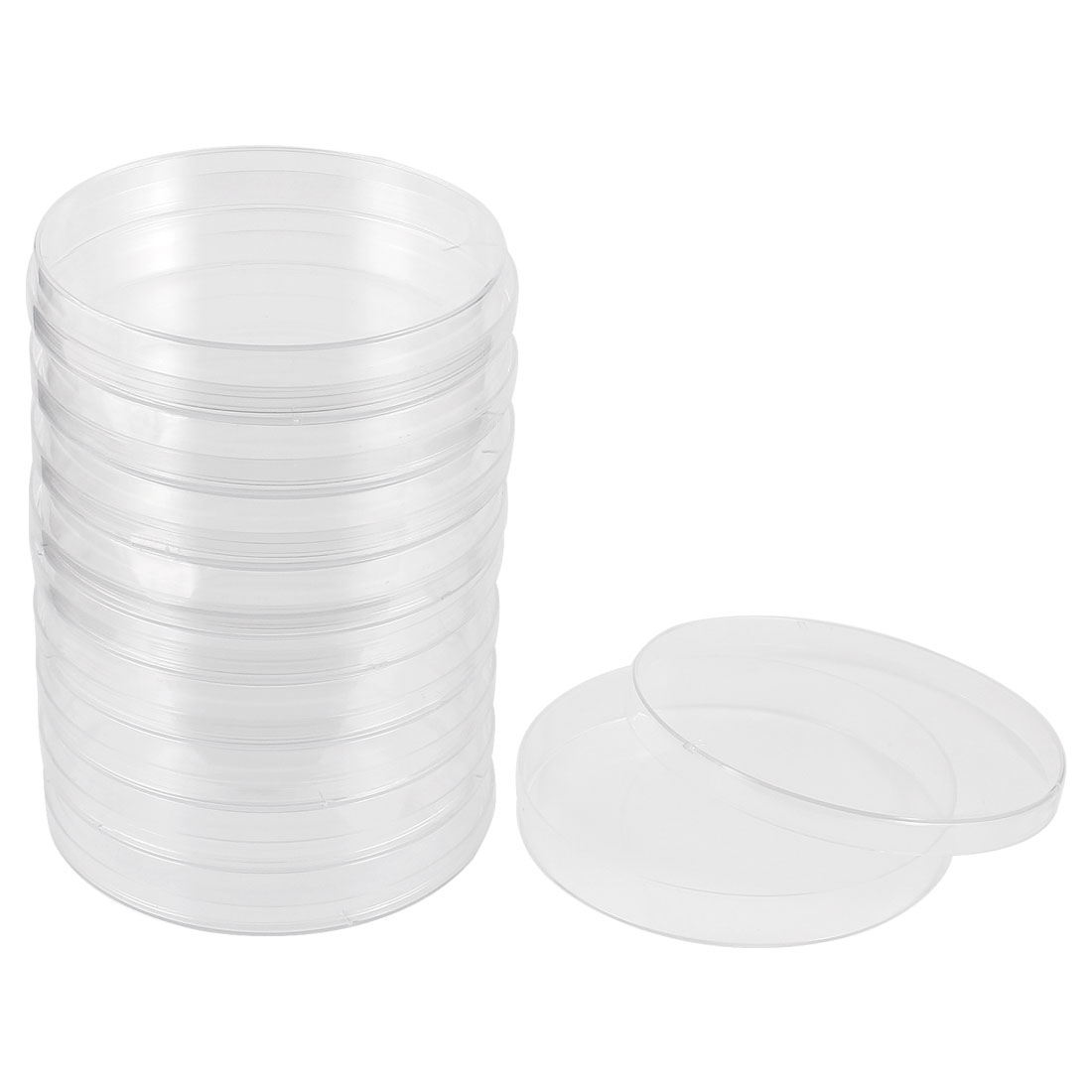 Labor Replacement Part 90mm Diameter Clear Plastic Cell Culture Dish 10 Pcs