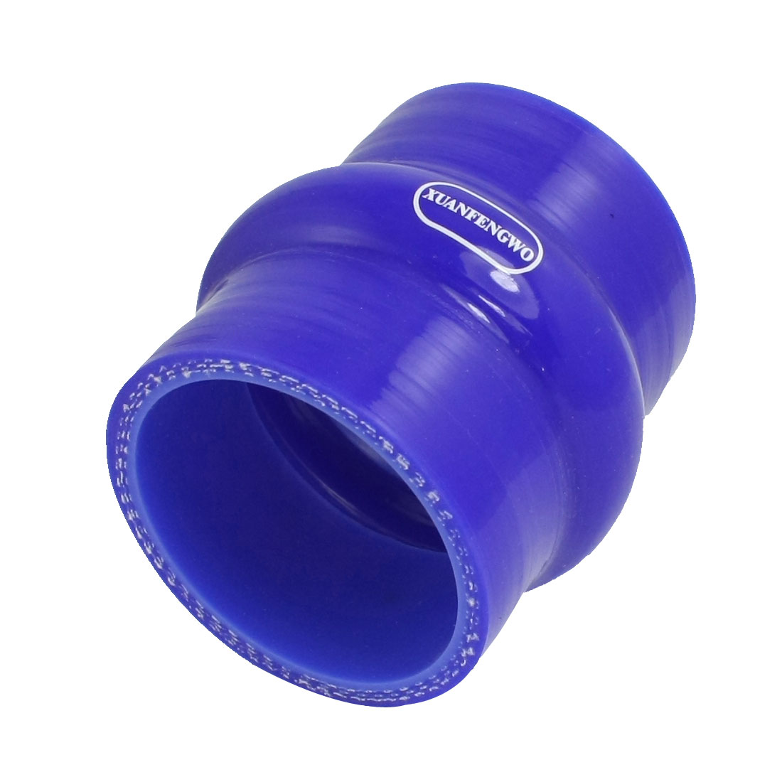 57mm Blue 3 Ply Turbo Intake Intercooler Silicone Hump Coupler Hose
