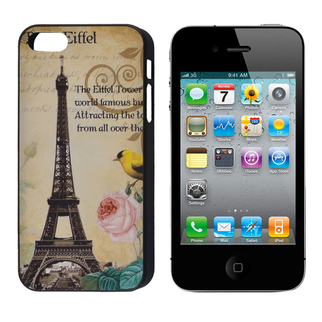 Classic London Big Ben IMD Hard Back Case Cover for iPhone 5 5G 5th Gen